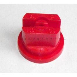 Rozpylacz szczelinowy opryskiwacza czerwony 0.4
