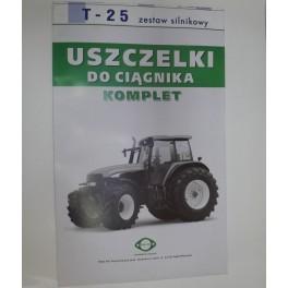 Uszczelki silnika TEDEL T25 WLADIMIREC