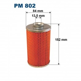 Filtr paliwa ZETOR wkład pojedynczy PM802