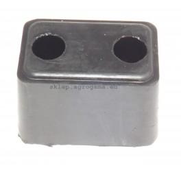 Odbój gumowy zderzak uniwersalny 125x80x80